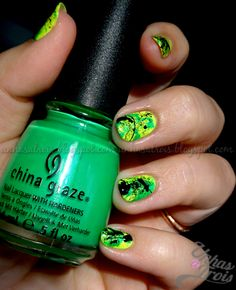 In the limelight neon by China Glaze This board is for all #EDMMusic Lovers who dig cool stuff that other fans could appreciate. Feel free to Post or Comment and Share this Pin! #ViralAnimal #EDM http://www.soundcloud.com/viralanimal