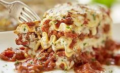 recipe for Olive Garden's Lasagna Classico: