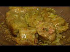 Sarmale în foi de varză - YouTube Meat, Chicken, Youtube, Food, Essen, Meals, Youtubers, Yemek, Youtube Movies