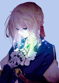 Violet evergarden art,so amazing. Anime Shojo, Sad Anime, Manga Anime, Wallpaper Animes, Animes Wallpapers, Live Wallpapers, Phone Wallpapers, Manga Girl, Anime Art Girl