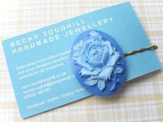Hair Slide - Rose £6.00
