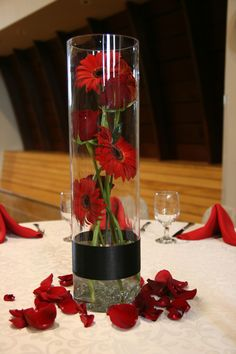 a different and more visually appealing way to do gerbers in a vase