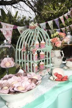 Tea Party treats! See more party ideas at CatchMyParty.com!