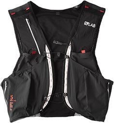 0459a31afb7 Salomon SLab Sense Ultra 5L Hydration Vest BlackRacing Red S ** Learn more  by visiting