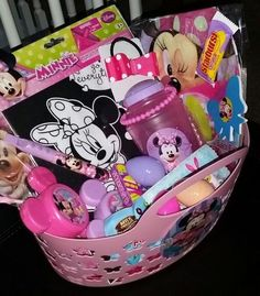 Tulle easter basket idea this diy easter basket for girls is oh disney junior easter basket ideas for children kids toddlers girls pre negle Image collections