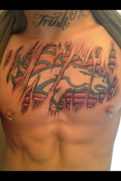 Check out this tat...GO BRONCOS