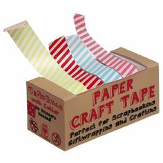 masking tape candy stripes