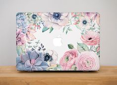 Ohio Flowers Case For Laptop