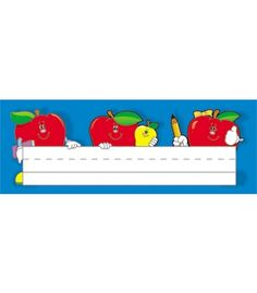 Apples Nameplates - Carson Dellosa Publishing Education Supplies