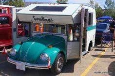 vintage volkswagen camper