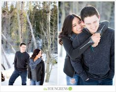 Lake Tahoe Engagement, Photography by The Youngrens