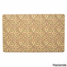 Ashley Roberts Hacienda Indoor Kitchen Mat PVC Rubber Floor Rug 18 x 30 #AshleyRoberts #CountryNoveltyPatterned