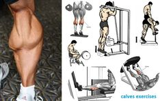 Calf Training: Effective Tips To Get Your Calves Growing! Fitness Workouts, Fitness Gym, Weight Training Workouts, Gym Workout Tips, Muscle Fitness, Mens Fitness, Calf Training, Gym Training, Bodybuilder
