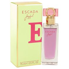 Exalt yourself to your highest, most enjoyable frame of mind while wearing Escada Joyful womens fragrance. Boasting invigorating peony, melon, blackcurrant, mandarin and icy notes, this scent from acc