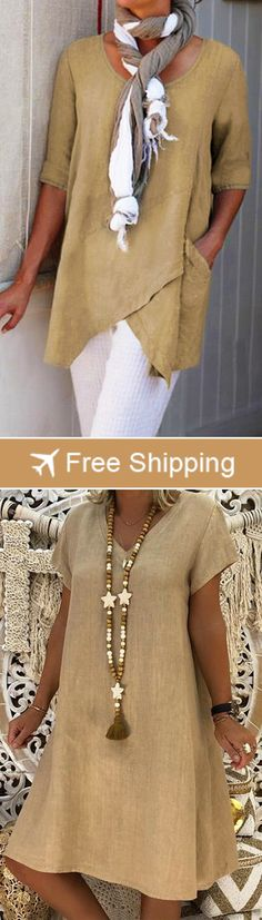 lots of casual blouses are waiting for you to choose - Sommer Kleider Ideen Fashion Wear, Look Fashion, Fashion Dresses, Womens Fashion, Fashion Trends, Male Fashion, King Fashion, Fashion Hacks, Fall Outfits
