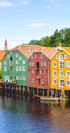 70 Countries Later, I Choose Norway // photo Trondheim, Norway