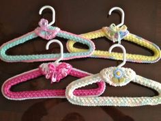 Crochet pattern for hangers