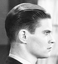 Manner frisuren 30iger