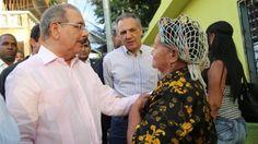 Danilo Medina realizó visita sorpresa a Las Cañitas y Herrera