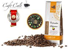 Café Cult Colombia Supremo Gourmet Colombia Supremo. www.mardete.com