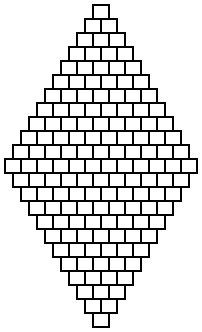 Seed bead jewelry Diamond brick stitch patterns ~ Seed Bead Tutorials Discovred by : Linda Linebaugh Beaded Necklace Patterns, Seed Bead Patterns, Beading Patterns, Stitch Patterns, Loom Patterns, Mosaic Patterns, Loom Beading, Embroidery Patterns, Art Patterns
