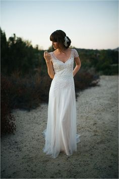 Southern California Bride: A Stylish and Magical Styled Bridal Shoot by Alyssa Michelle Photography