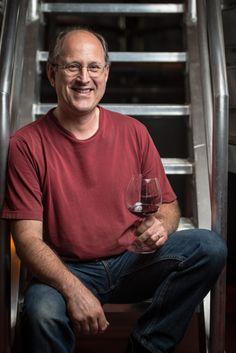 Daniel our Assistant Winemaker - Parlez vous  Francais?