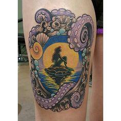 Beautiful Ariel tattoo