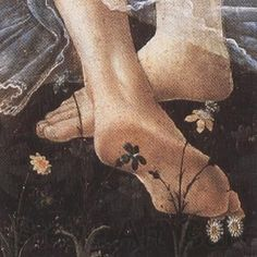 (Source: a-nymph) Sandro Botticelli Primavera detail