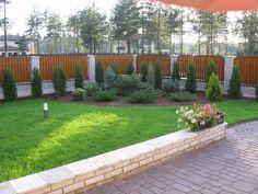 Landscape Design Plans, Small Backyard Landscaping, My Secret Garden, Evergreen, Outdoor Living, Garden Design, Home And Garden, Google, Ideas