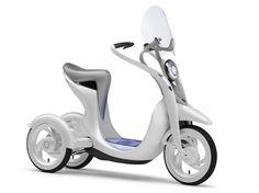 ヤマハ発動機の電動3輪スクーター『EC-Miu(イーシー・ミウ)』