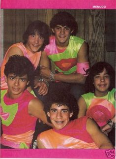 Menudo: We were at Great Adventure for the day, and my friend Neally made us go to the concert there. Some of enjoyed the show; some of us did not.