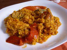 Las maría cocinillas: Paella de Pollo [la auténtica Murciana]
