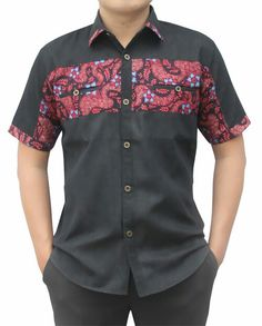 SALE ELEGANT BATIK African Shirts For Men, African Dresses Men, African Clothing For Men, Latest African Fashion Dresses, African Print Fashion, African Attire, African Wear, African Print Shirt, Nigerian Men Fashion