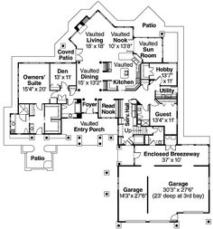 Plan 72562DA: Craftsman With Many Living Spaces