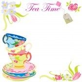 Tea Time Party Invitation Royalty Free Cliparts Vectors And Stock Ilration Image 5788171