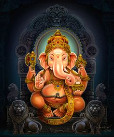 My dear dear #Ganesha ~ how you help me to remove obstacles… and unleash my creativity on any writing project! ~ M