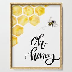 Bumble Bee Crafts, Bumble Bee Nursery, Bee Decorations, Bee Painting, Bee Boxes, Bee Cards, Bee Theme, Bee Happy, Serving Trays