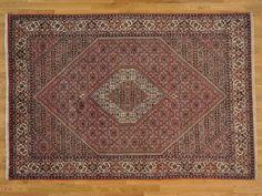 6.5' x 9.5' Handmade Oriental Rug 300 kpsi Persian Bidjar 100 Percent Wool -