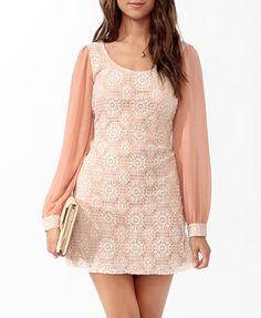 Crochet Dress | FOREVER21 - 2000034926