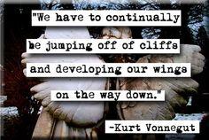 I love Kurt Vonnegut