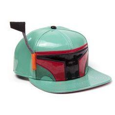 Casquette Star Wars Boba Fett Mode Geek, Star Wars Boba Fett, Snapback, Riding Helmets, Geek Stuff, Stars, Quirky Gifts, Cap, Geek Things