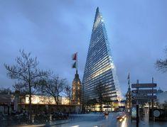 paris approves herzog & de meuron's 180-meter triangle tower