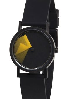 Projects dj vu Yellow Watch   Free Shipping from Watchismo