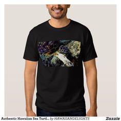 Authentic Hawaiian Sea Turtle Photography T-shirt