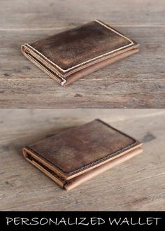 Bifold Personalized Wallet - Gift for Men