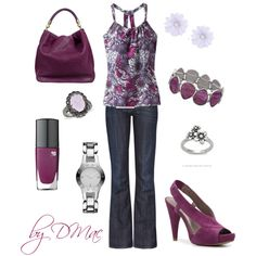 Spring Purple, created by dmac30 on Polyvore