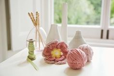 How to Make a Crocheted Cotton Shower and Bath Puff