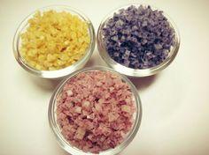 Sea salt collection..infused with turmeric, rosella, blue pea flower #javara indigenous indonesia#
