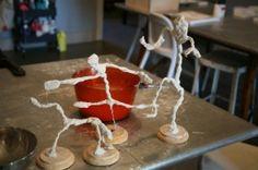 Giacometti Self Portrait Sculptures - Movement Study